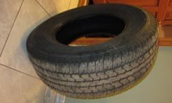 For Sale $100 - 4 tires Bridgestone Dueler A/T  P265/70/17 call 473-4532 or reply by email.