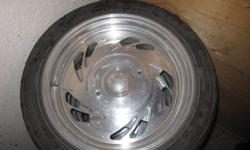 4 Donlup tires with 17 inch center line rims. 235/45 R17. Should fit most Ford vechicles. 10 bolt system. Asking $800 OBO