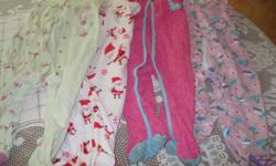 4 Girls - 1piece PJS Brands - George / Pekkle / Carter No rips/stains Size - 24 months / 2T Get ALL 4 for ONLY $15 (less than $4 per outfit) Can meet in west end of ottawa (kanata) or pickup in Constance Bay