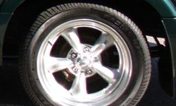 """GM A1000 255x45R17 Ultra HPA on 17"""" Eagle Alloy wheels Will fit on GMC Sonoma or S10"""