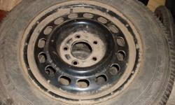 Only used half the winter...chevy venture, 5 bolt pattern, please call 628-6181