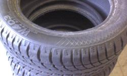 I have a set of 4 P215/55/16 Aurora W403 winter tires close to 90% threads left, like NEW conditions, tires only; looking for $450..
