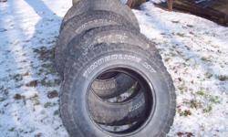 4 Tires 265x70Rx17  DAYTON TIMBERLINE MT good shape, lots of tread left. $225.00 OBO
