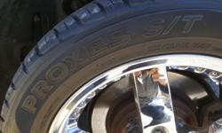 GOOD SET OF 4 TOYO-255-50-R-18 ALL SEASON WITH GOOD TREAD ON ALL TIRES.. ASKING $380 ( RIMS NOT INCLUDED )