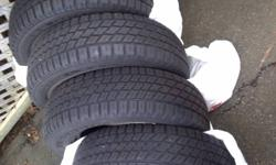4 Used Nordic IceTrac Winter Tires P205/70R15 and will not fit the vehicle we have now   Plenty of tread left as used only one winter   Not on rims   No tire tax--no HST--less than $57 a tire!   Cash only-pick up in Bridgewater, Nova Scotia   Sorry-no