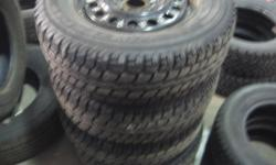 215/70/16 4 Winter Tires off 05-09 Equinox or Torrent Call 519-336-1239 and ask for John