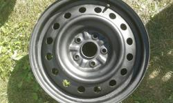 Steel rims for sale. In good shape - great for winter tires. Fits Toyota Sienna. Size 215/65 R16