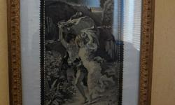 If the item is listed it is still for sale. It is removed immediately when sold. This antique woven picture silk textile is very unique and rare find. The original painting was done by P.A COT and is titled The Storm. It depicts two young children running