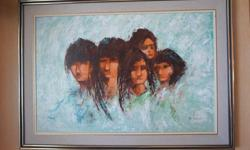 If the item is listed it is still for sale. It is removed immediately when sold. This oil on canvas has such nice engaging feel to it. It dates sometime in the 70's and is signed in the lower right corner; W. Lucas. This painting is done by a known