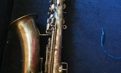 If the item is listed it is still for sale. It is removed immediately when sold. This is a rare and fabulous find. This saxophone needs restoration but would be well worth it to bring it back to its former glory. It is a Buescher True Tone Low Pitch C