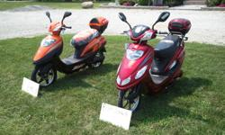 I have 500/800w scooters for sale at $799.00 each (continuous/peak) They all travel up to 32km and hour and take about 8 hours to charge dead battery (charger is included) They have a brushless electric motor that is powered by 4 large high power