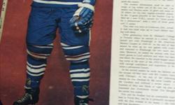 1950;s era - 1960's WEEKEND magazine full page Hockey Greats photos and stories...43 available, plus dozens of black and white action pictures taken from the Montreal Gazette and Montreal Star during this time, (also weekend magazine) very fragile but in