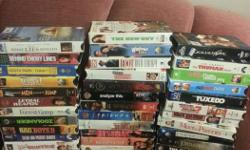 Selling 50 dvd movies. From kids to drama, comedy etc.. Asking $40 Pics attached. If interested, email or phone and leave a message please.. Ty