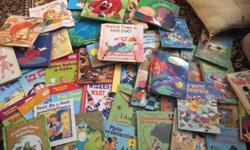 I have a huge collection of children's books They were my children's books but they are all grown. A bunch of classic Disney books perfect condition and also scholastics books Good for teachers or babysitters