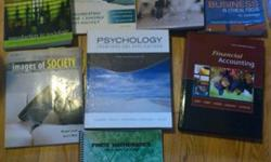 I am selling text books of 1st/2nd year in UWO1. ECO 2152Macroeconomics 2nd Canadian Edition ISBN: 0321595602Author: Williamson Publisher: PearsonEdition: 2nd 2. PHI2074 Business In Ethical Focus An AnthologyISBN: 9781551116617Author: Allhoff Publisher: