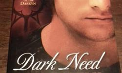 Dark Need by Lynn ViehlUsed hardcover Novel with dust-cover in great condition.Paranormal Romance novel; A woman police officer who falls in love with a vampire while investigating a murder. Pick-Up ONLY $5.00