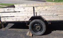5x8 Utility Trailer for Sale All lights working, saftey chains 1 7/8 ball Ownership papers Only reason I'm selling is to make room in driveway   $600.00 OBO