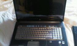 Top of the line HP Notebook for sale!** Open to serious offersBasically this is a fully loaded laptop.Big, beautiful 18.4-inch displayFinger-print reader to access compterExtreme HD SoundNew price was $2400In perfect used condition, restored to factory