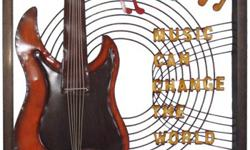 Here's a great gift itdea for the music enthusiast in your life and a nice compliment to your current home decor... Musical Themed Metal Wall Art. Birthday, Anniversary, Huuse Warming, Hostess and Christmas ideas at: www.giftstoreandmore.blogspot.ca