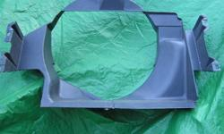 Collector 65 to 67 radiator fan shroud in excellent shape