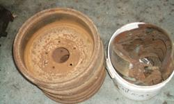 69 pontiac brake drums and shoes or69chevy please call dean at 705-749-9421