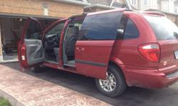 2006 Dodge Grand Caravan STOW & GOBody is in great shape, few scuffs and dents but body is in good shape, broken mirror, but mirror still useable. Interior is in mint condition. Everything in working condition. 2 new all seasons tires. DVD/CD/RADIO all