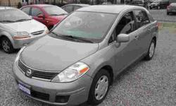 """ALL INCLUDED! SAFETY & E-TEST & CAR-PROOF & WARRANTY. NO HIDDEN CHARGES, JUST + TAX!? 2007 Nissan Versa S,. Automatic, four door. Sedan, AC, Loaded, PW, PL, PT, Tilt, CD/FM/MP3 Key-less, Anti-theft, 1.8L, Grey. ONLY: 119,000 kilometers. DIRECT FROM"
