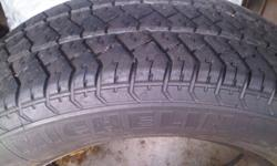 have a set of 4 used Michelin MXV all season tires for sale. 2 of them have about 50% thread and the other 2 about 30% thread. I also have a set of 2 Goodyear Eagle all seasons for sale, they have about 50% thread left on them . $80 for set of 4 Michelin