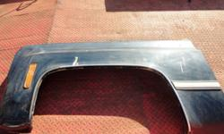 73-80 GMC/Chev. d.s. front fender. Good condition, some minor rust on inside. $20 Can bring to town.