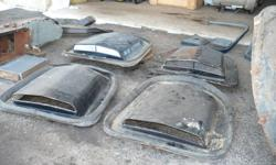 77-81 Firebird parts just send me a message for needs.  rear window shaker scoops blow motor heater core hood hinges brake master fuel tank passenger fender (firebird) lots of other small pieces