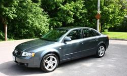 Hi all, The time has come again to sell my car. Those of you that know me know that I take extraordinarily good care of my cars.I am selling a stock (never modified) 2004 Audi A4 1.8T Quattro. I have owned it for about 2.5 years now. There is absolutely
