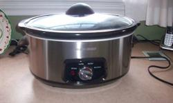 7 quart black and decker crock pot Brand new only used once $15