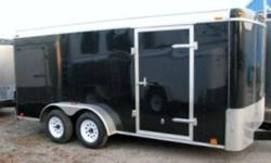 Custom Cargo Concept Inc. February deal   Make: Atlas 7x16 TA2 Black Tandem axles (3500lbs each) Rear ramp Side door 2 int. lights + switch Roof vent 3/4 Advantech floor 3/8 walls 16'' O.C walls structure 3 Years warranty PRICE: ONLY 4695$$$   Where