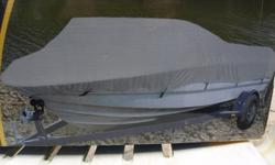 Brand new in boxBoat cover 16-18 foot 16 x18 ft x 94 inches600D weather resistnd fabric10 loop holes with grommetsincludes 77 ft rope and storage bag80.00no emails please call 289-235-8117