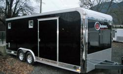 Best selection of auto haulers from Kitt Equipment and Cargomate.  From a simple well equipped 8.5 x 20 car hauler to Full on Race trailer we do it all.  Several different models 15 colors and 1000's of options available give us a call at Chilliwack