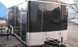 THIS DEAL WILL END JANUARY 31ST, 2012 HURRY UP!!!! HOT DEAL   Manufactured by ATLAS 2012 8.5x20 Tandem Axle (3500lbs ea.) Black TORSION AXLE RADIAL TIRES One piece aluminum roof 16'' O.C walls structure 16'' O.C frame cross member 3/8 walls 3/4 Advantech