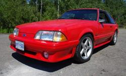 1993 Ford Mustang GT US car - approx 120,000 miles Has not seen snow in 10 plus years. Has only been in the rain a couple of times in the last 10 years. Many extras including; Holley Systemax II kit (intake & heads), Accufab throttle body, C&L Inlet Tube