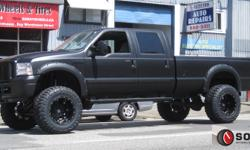 """SORAT WHEELS & TIRES INC.  604-980-7013   8"""" FABTECH COMPLETE LIFT KITS INSTALLED   ONLY $1895 !FOR ALL 2005 2006 2007 FORD F250 & F350 NON DUALLY TRUCKS CLEAR UP TO 38x13.5x20 TIRES! MADE IN THE USA PRICE IS PLUS TAX, NO HIDDEN FEES! COMPLETE KITS! NEED"""