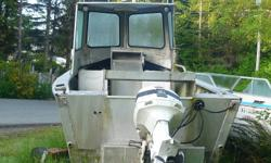 Just sold hull and now selling the motor as I don't need it. Can be seen running in the water for the next couple of days. After that the motor will be pulled off boat. Motor comes with 2 spare props and a spare parts motor as well. New shifter and
