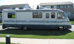 Need to sell...REDUCED BY $1000 92 - 32ft Mallard Sprinter Motor home. 85,675 original km, Air Conditioning, Built in Gas Generator, Fridge/Stove/Oven/Microwave, Built in TV & Antenna, CB Radio, 3 pc Bath, Awning, 3 Captains Seats, Couch & Dining Table