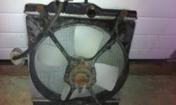 92-00 Honda Civic Radiator In perfect working condition. Comes with fan/shroud $20.00O.B.O   have 2 if add is up its still for sale check out my other ads