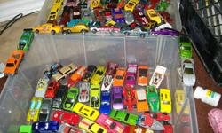 98 Hot Wheels Cars All in good/excellent condition.   Pick up only - no deliveries.   All models are within a 8 year old range. Nothing older. ONLY $50