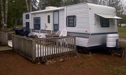 30 foot, 8-man trailer