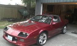 89 I-Rock with t-bar roof and no they don't leakAll Original Just need Clear coat fixed on roof car is in real good shapejust put new tires on ready to goMotor is a 305 and under hood is real cleanthis car is certified and e tested $9800.00