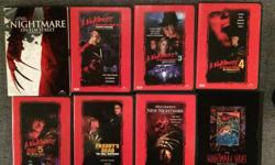 A Nightmare on Elm Street DVD Collection Films 1-7 plus Bonus Disc (9 Discs)