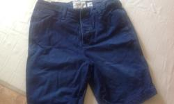 Men's navy Abercrombie and Fitch shorts. Like new. Size 31. Located in Charlottetown. No holds. $5