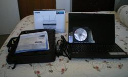 I have an Acer computer with windows 7 that I bought in January...it comes with it's own case and a wireless router. I can be reached at 622.8994.
