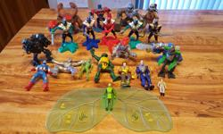 For sale is a lot of action figures. There are 21 in total. Only $10 for them all. **more figures added**