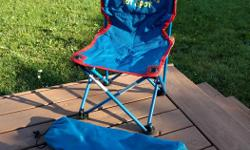 """Sets up very easy Color: blue and red Product dimensions: 19"""" x 13"""" x 12 1/2"""" Not recommended for for weight of more than 50lb Recommended age: 2-5 years Asking 10$"""