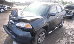 ACURA MDX (2001/2006 RIMS )   CALL GREEN LANE AUTO PARTS ASK FOR MIKE IF YOU NEED ANY OTHERS PARTS THIS CAR IS NOT FOR SALE PLASE DONT SEND ANY EMAIL CALL (905) 762-0888 ASK FOR MIKE WE HAVE ALL PARTS FOR THIS CARS